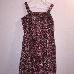 Lane Bryant Summer Dress With Adjustable Straps 24